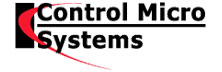 Control Micro Systems: Providing Cost-Effective Solutions for Laser-based applications